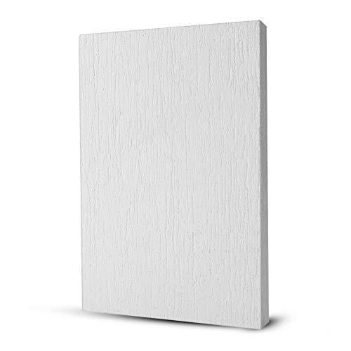 BXI Placa de aislamiento térmico de fibra de cerámica (1500 °CF), inorgánica, ignífuga, resistente al calor (300 mm x 200 mm (grosor: 10 mm)