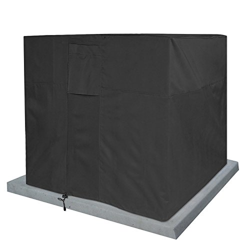 KHOMO GEAR Titan Series, air Conditioner Covers for Outside Units, Black