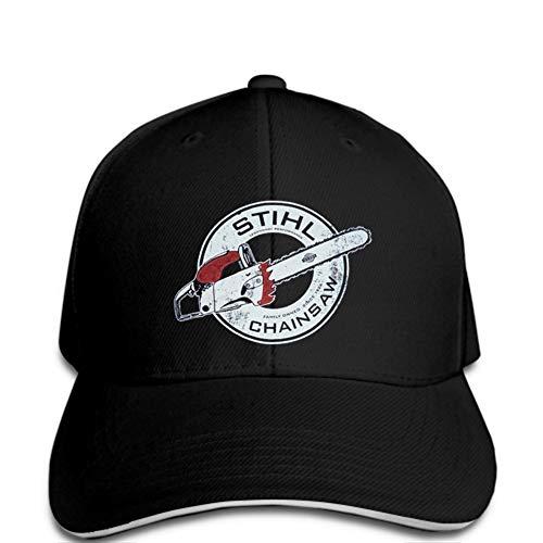 Gorra de Beisbol El Logotipo de la Sierra eléctrica de la Gorra...
