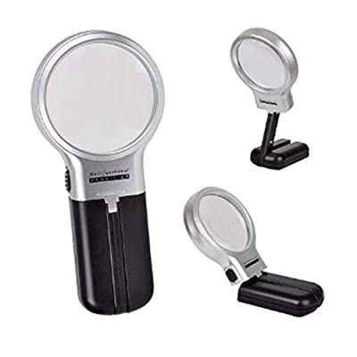 Greenery Personal Care Magnifier Reading Magnifying Glass Lens Jewelry Loupe Weak-Sight Helper, Xmas Gift for Seniors