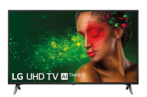 "LG 43UM7100PLB - Smart TV 4K UHD de 109 cm 43"", (procesador Quad Core, HDR y Sonido Ultra Surround) color negro"