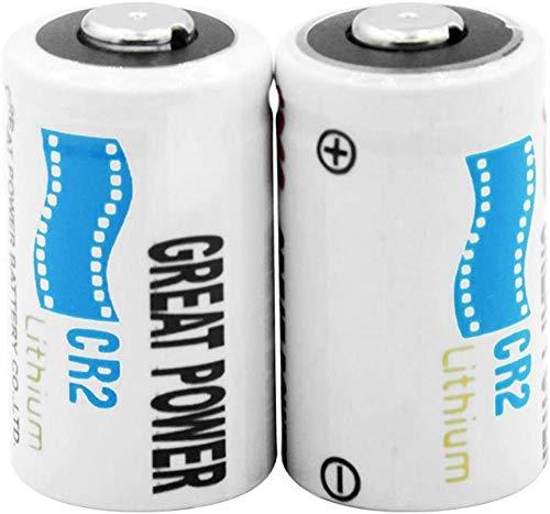 3v Cr2 Kcr2 Dlcr2 Baterías de Litio Baterías de Litio de 3v para videocámara Medidor eléctrico Timbre de Puerta-4 Piezas