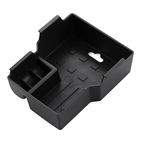 TOPDECO Armrest Box Center Secondary Storage Box Glove Stowing Tidying Container Vassoio Accessori Auto