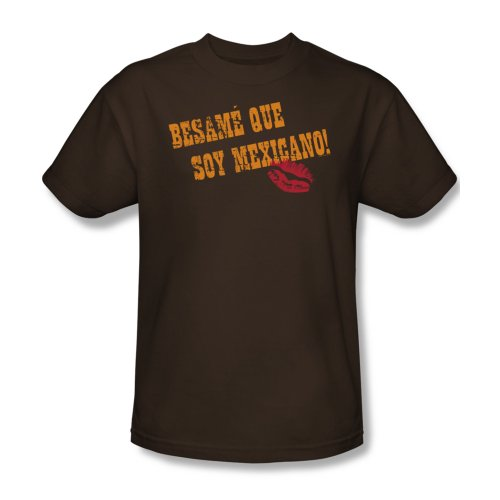 Besame Que Soy Mexicano - Männer T-Shirt In Kaffee, XXX-Large, Coffee