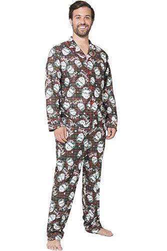 A Christmas Story Herren Ralphie Coat Front Pajama Pyjama Set, Multi, Small