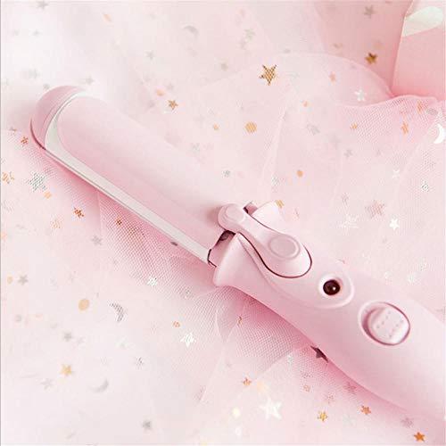Lisseur cheveux -2 en 1 mignon petit coiffeur fraîche étudiante style fille cheveux bouclés bâton dortoir attelle portable-Rose