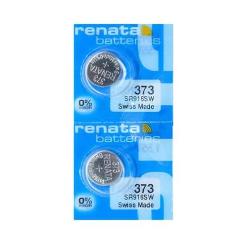 #373 Renata Watch Batteries 2Pcs