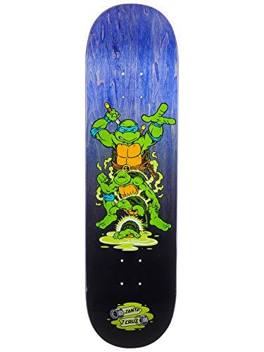 Santa Cruz Tabla Skateboards: TMNT Leonardo 8.375
