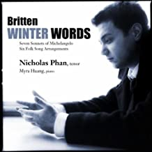 Winter Words: Songs By Britten (2011-09-13)