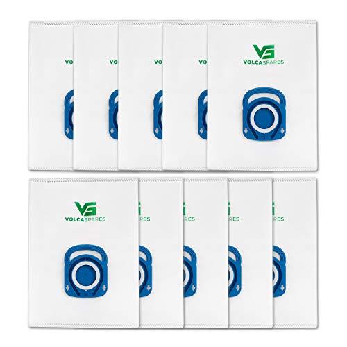 Vocla Spares ZR200520 Hygiene+ Staubsaugerbeutel für Rowenta Silence Force, Compact Power und X-Trem Power, 10 Beutel