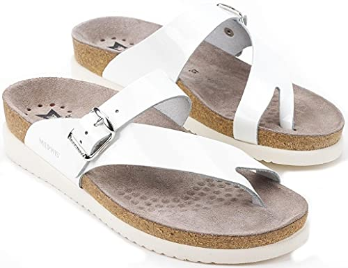 Mephisto helen - Comodo sandalo da donna - Pelle (Bianco, numeric_41)