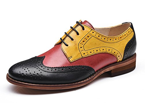 Women Oxford leather shoes E215 (10 B(M)US, B)