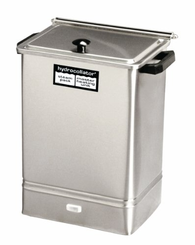 Hydrocollator 00-2102-2 Heating Units with Packs, E-1 with 3 Standard and 1 Neck