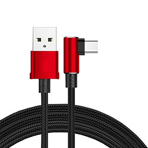 Cable Tipo c-Cargador Tipo c Cable de Datos Tipo c de ángulo...