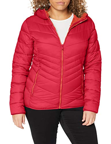 CMP Giacca Water Repellant Packable Chaqueta, Mujer, Magenta, 40