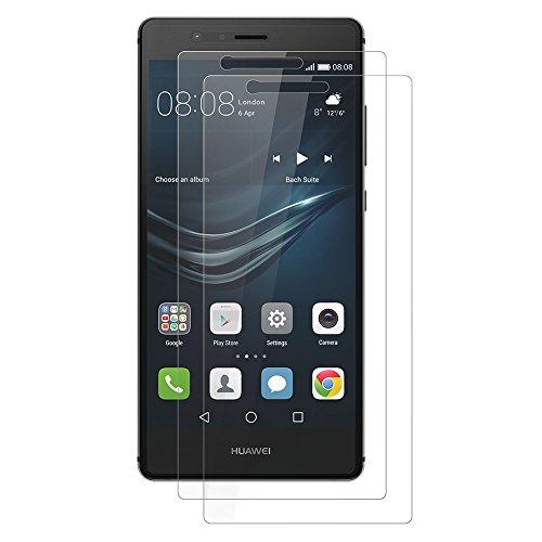 AICEK [2-Pack] Protector de Pantalla para Huawei P9 Lite, P9 Lite Cristal...