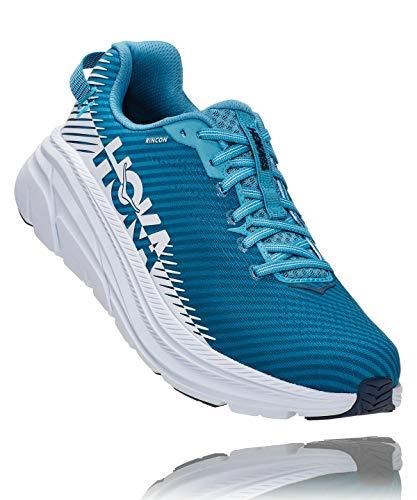 HOKA ONE ONE Men's Rincon 2 Road Running Shoe (Blue Moon/White, Numeric_11)