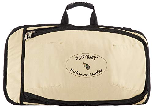 Blue Planet Canvas Carry Bag for Balance Surfer Custom Canvas Carrying Bag with Zippers, Pockets, Handles and Straps for Balance Surfer Balance Board and Modules
