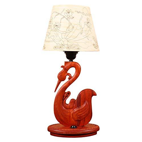 Leselampe Nachttischlampe Tischlampe Schreibtischlampe Tischleuchte Lampen Im Chinesischen Stil, Mahagoni-Kunsthandwerk, Lampe, Wohnzimmer, Schlafzimmer, Fabrikverkauf