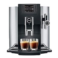 in budget affordable Jura 15097 E8 espresso machine, 28 cm x 35 cm x 35.1 cm, chrome