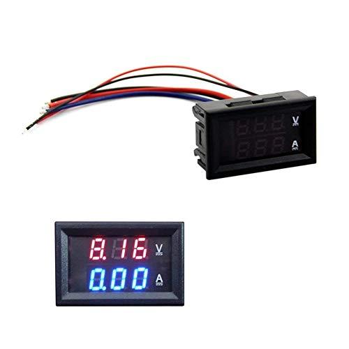 Preisvergleich Produktbild Ouken DC 100V 10A Voltmeter Amperemeter Blue + Roter LED Amp Dual Digital-Volt-Meter-Messgerät DIY Tool