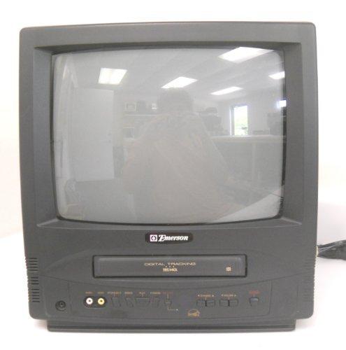 Emerson EWC-1301 13' TV VCR Combination VHS Player SDTV CRT TV Combo