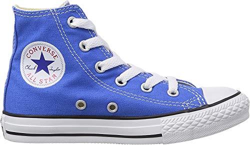 Converse Unisex – Bimbi 0-24 Chuck Taylor all Star Hi Scarpe Sportive Blu Size: 25