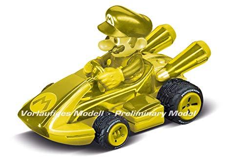 Carrera RC 370430001 2,4GHz Kart(TM) Mini RC, Mario-Gold