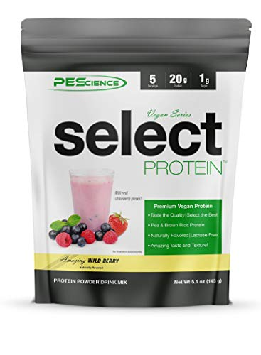 Pescience: Select Protein Vegan Series 5 Servings (Wild Berry)