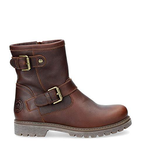 Panama Jack Damen Felina Igloo Biker Boots, Braun (Castaño B20), 41 EU