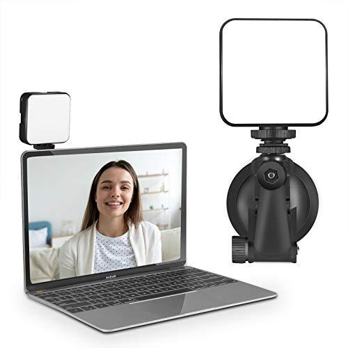 LED Video Licht, CHANONE Videolicht für Videokonferenzen, Zoom, Selbstübertragung und Fernarbeit