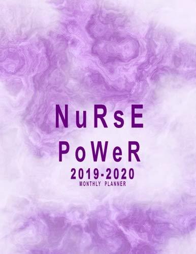 2019-2020 Monthly Planner: Nurse...
