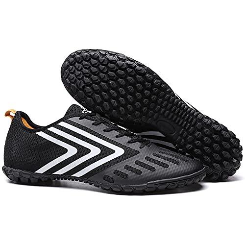 ZGRNB Zapatos de fútbol para Hombres y Mujeres, uñas rotas, Zapatos de Entrenamiento para jóvenes, Antideslizantes, Picos de césped Artificial 35-44