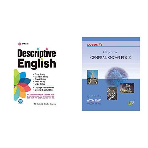 Descriptive English+Objective General Knowledge(Set of 2 books)