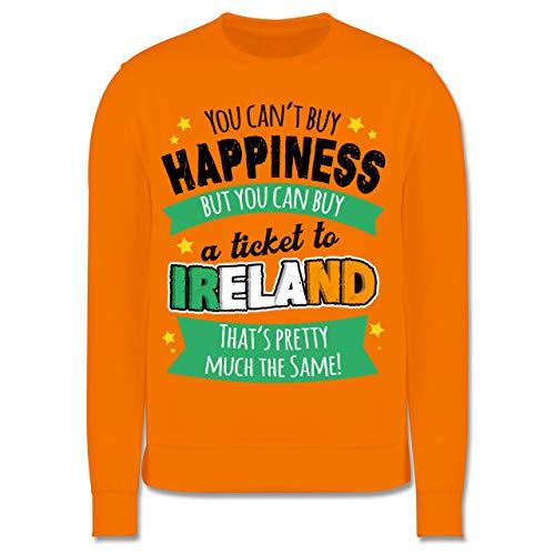 Anlässe Kinder - A Ticket to Ireland - schwarz - 140 (9/11 Jahre) - Orange - Ticket to Ireland - JH030K - Kinder Pullover