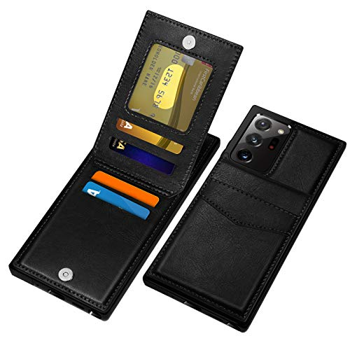 COOYA for Galaxy Note 20 Ultra Case, Samsung Note 20 Ultra Wallet Case with Card Holder Magnetic Clasp Soft PU Leather Folio Flip Protective Back Cover Phone Case for Samsung Note 20 Ultra 5G 6.9 Inch