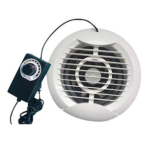Extractor De Baño, Extractor de baño Ventilador, Fan de extractor de cocina 5 pulgadas 120 mm Cuarto de baño Cuarto de baño Dormitorio Pared de vidrio Mute Potente