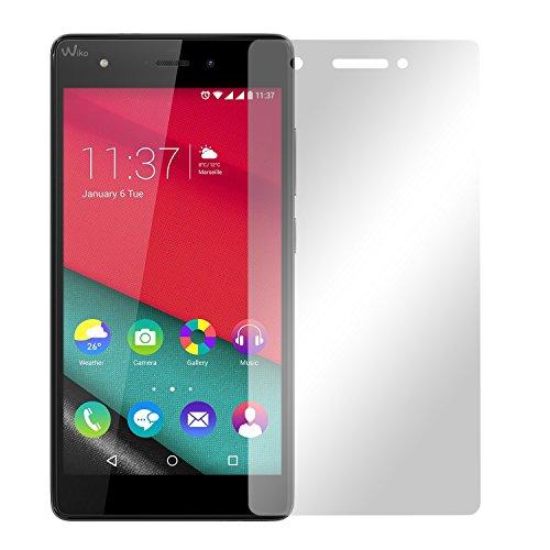 Slabo 2 x Bildschirmfolie für Wiko Pulp 4G LTE Bildschirmschutzfolie Zubehör Crystal Clear KLAR