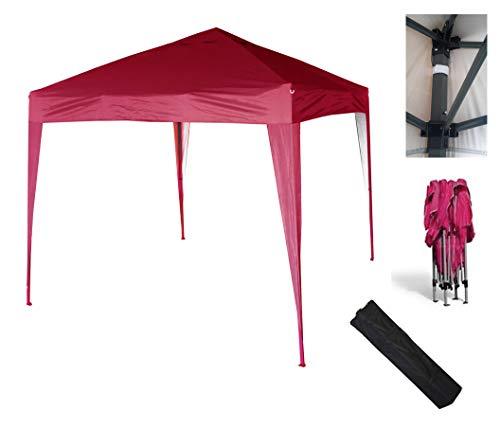 Mcc@home 2x2m Pop-up Gazebo Waterproof Outdoor Garden Marquee Canopy (NS) (Red)