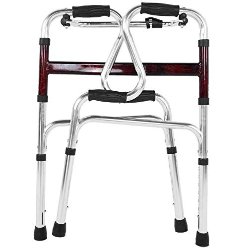 Asas cómodas Marco de seguridad para inodoro Aleación de aluminio Fuerte capacidad de carga Andador médico Riel de seguridad para inodoro para ancianos para movilidad limitada