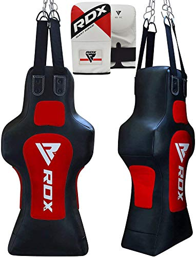 RDX Boxsack MMA Kampfsport Muay Thai Boxen Sack Set Kickboxen Training Boxhandschuhe Gefüllt Sandsack Punching Bag Gewicht (MEHRWEG)