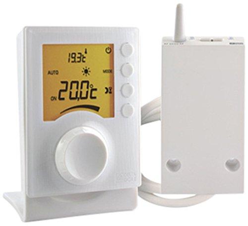 Delta Dore 6053002 Termostato senza fili a rotella Tybox 33 per caldaia e pompa di calore