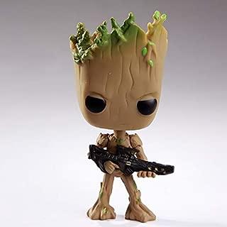 Característica linda Groot juguetes divertidos decoración del hogar animado Guardianes Vengadores hombre lindo árbol de Navidad Acción Adornos para la decoración casera