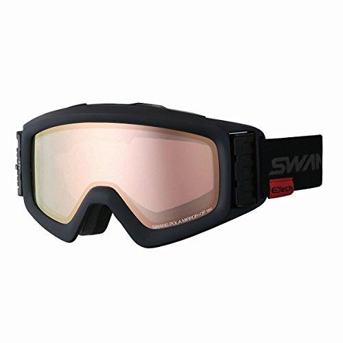 【国産ブランド】SWANS(スワンズ) スキー スノーボード ゴーグル 眼鏡使用可 ファン付 偏光 ミラー ヘリ HE...