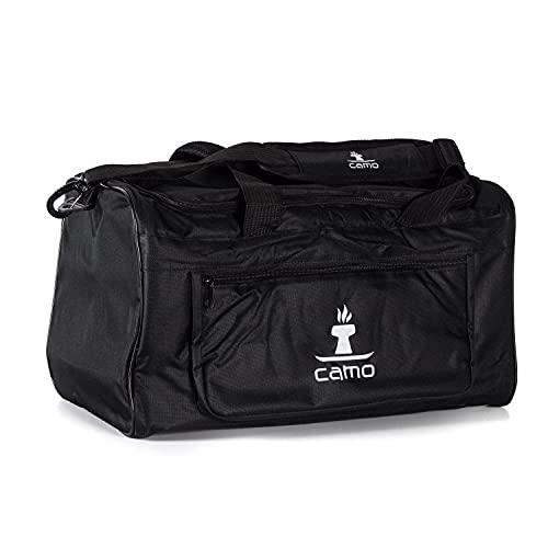 Camo Bag Transporttasche Individuell Aufteilbar Shishatasche Universal Tasche für Shisha und Zubehör inkl. Dicker Rundum Polsterung Schwarz