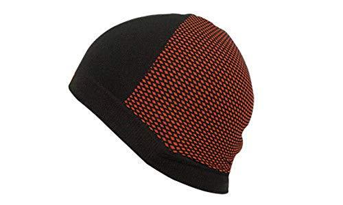 KTM Factory Helmmütze schwarz orange, nahtlos