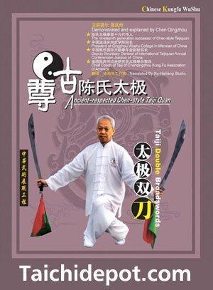 Tai Chi: Respeitado Antigo Chen Estilo Tai Chi Double Broadswords DVD