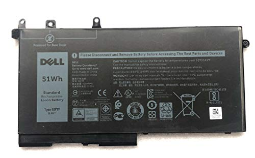 Genuine Dell Latitude 5280, 5290, 5480, 5490, 5495, 5580, 5590 3-Cell 42Wh Battery 45N3J 3VC9Y 3DDDG 451-BBZP