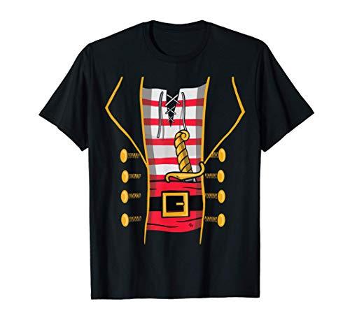 Disfraz de Pirata - Gráfico de Halloween Camiseta
