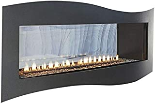 Empire Comfort Systems Boulevard IP Contemporary See-Through Vent-Free 36k BTU Fireplace - LP